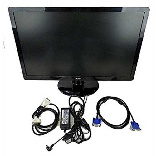 """Acer S230HL - LED monitor - 23"""" - 1920 x 1080 Full HD (10..."""