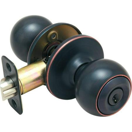 Hardware House Helena Keyed Entry Knob - Classic Bronze ()