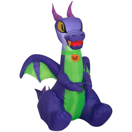 Gemmy Industries Yard Inflatables Baby Dragon, 3.5 ft