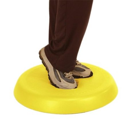 Cando Balance Circular Pad, Yellow - 20 in. dia. & 2 in. Thick About 20' Post Pad