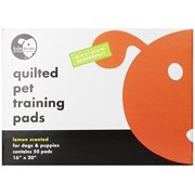"Lola Bean Quilted Pet Training Pads 50 Pads 16""x20"", Lemon"