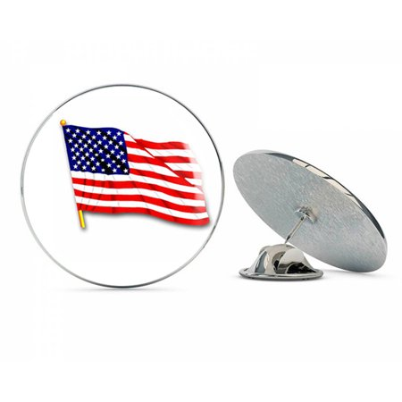 UNITED STATES WAVING FLAG 2?  Steel Metal 0.75