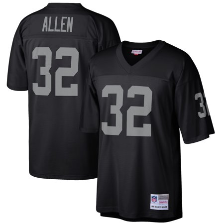 Marcus Allen Oakland Raiders Mitchell & Ness Retired Player Vintage Replica Jersey - Black Mitchell & Ness Football Jersey