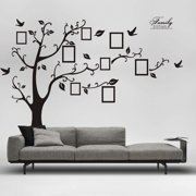 Gobestart 3D DIY Photo Tree PVC Wall Decals Adhesive Wall Stickers Mural Art Home Decor