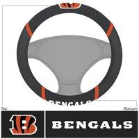 Cincinnati Bengals Logo & Wordmark Steering Wheel Cover - No Size