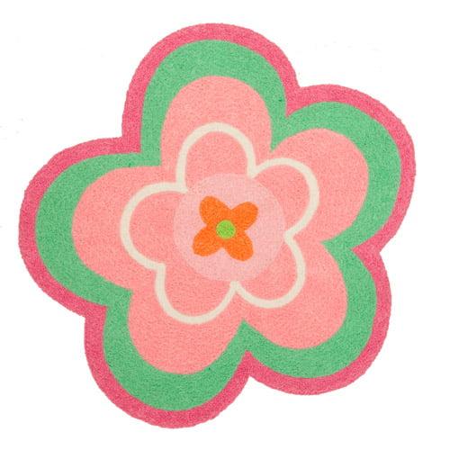 Kids' Flower Rug