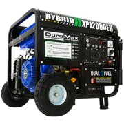 DuroMax XP12000EH Durable 12000 Watt 18 HP Portable Hybrid Gas Propane Generator