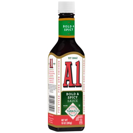 Image of A.1. Bold & Spicy Sauce Tabasco, 10 oz, Bottle