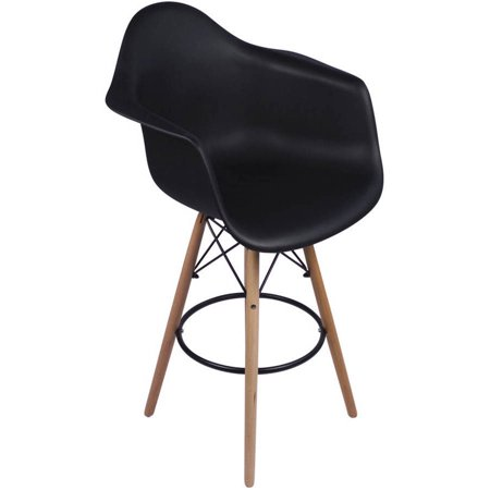 Counter Height Eames : Eames Arm Chair with Counter Stool Legs - Walmart.com