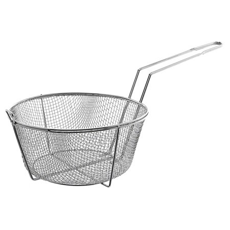 Fb 11  11 1 2  Round Wire Fry Basket  Ship Weight  2 1 Lbs  By Update International Ship From Us