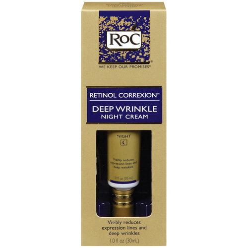 RoC Retinol Correxion Deep Wrinkle Night Cream, 1 fl oz