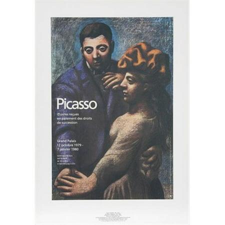 Pablo Picasso 50426 Le Danse Villageoise, Lithograph on Paper 29.5 In. x 21.5 In. - Blue, Orange, Beige