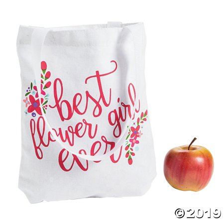Best Flower Girl Ever Tote Bag (Best Purse To Stay Organized)