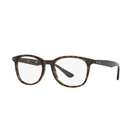 a422c978ee Ray-Ban Optical 0RX5356 2012 54 Shiny Havana Highstreet Eyeglasses - Walmart .com
