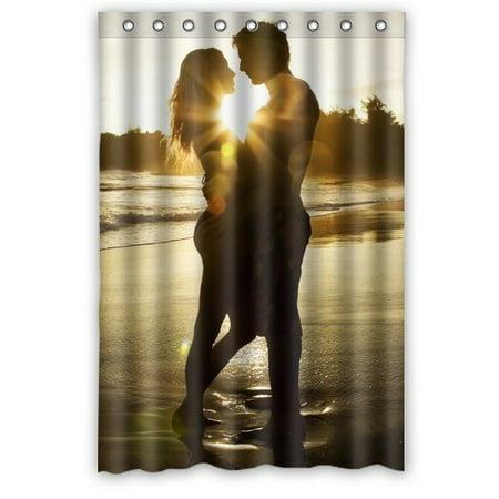 Ganma Lastest Hot Novelty Shower Curtain Polyester Fabric