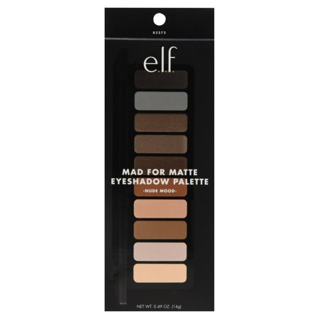 e.l.f. Cosmetics Matte Eyeshadow Palette, Nude