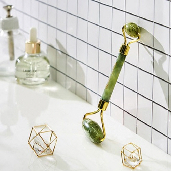BEAUTYinUS jade roller Jada facial acupressure massage ...
