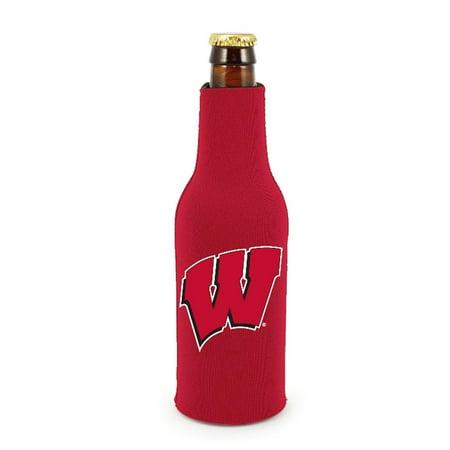 Giants Zipper Bottle Suit - Wisconsin Badgers Zippered Bottle Suit