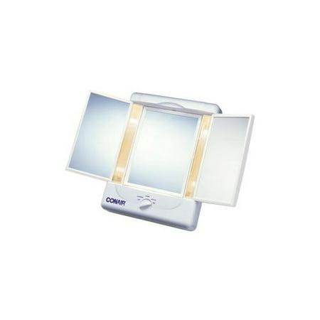 conair tm7l double sided lighted make up mirror cnrtm7l. Black Bedroom Furniture Sets. Home Design Ideas