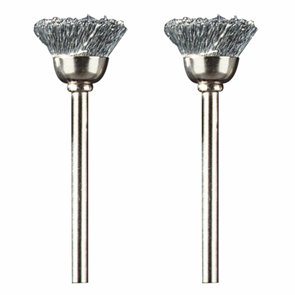 Dremel 442 1/2 inch Carbon Steel Cup Brush Rotary Tool Accessory for Use on Metal