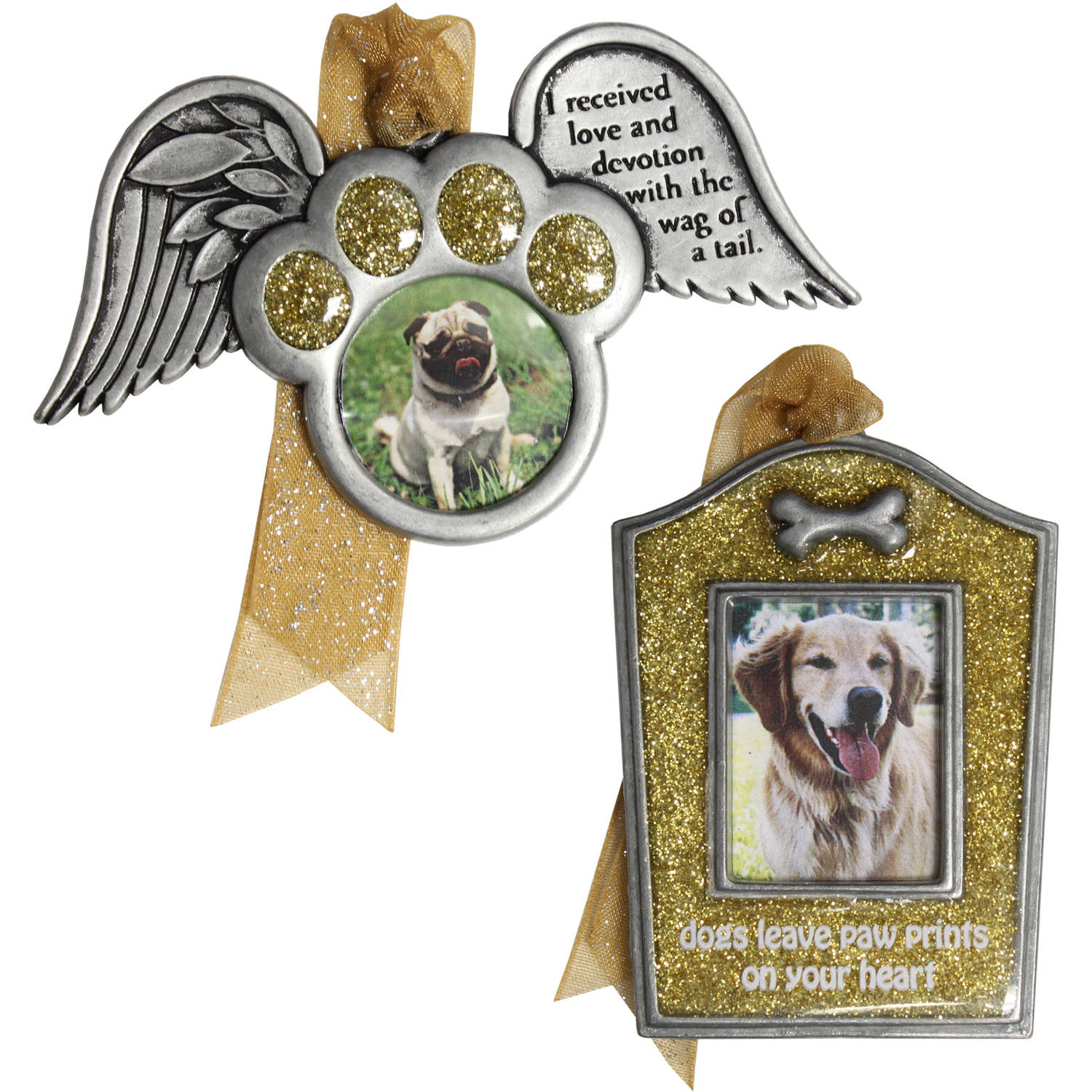 Dog Remembrance Ornament Set