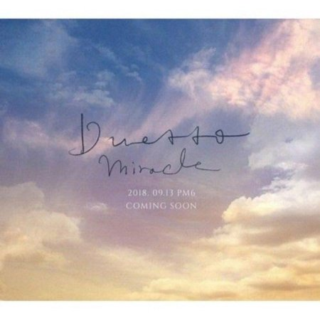 DUETTO - [Miracle 2nd Mini Album CD+Booklet K-POP Sealed Popera Crossover Music
