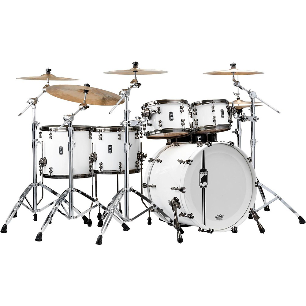 Mapex Black Panther Limited Edition White Widow 5-Piece Shell Pack by Mapex