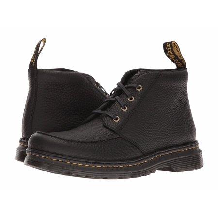 przemyślenia na temat Hurt szerokie odmiany Dr. Martens Austin Men's Shoes Moc Toe Leather Ankle Boots 22119001 Black