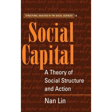 Social Capital  A Theory Of Social Structure And Action