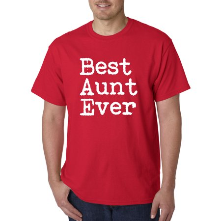 Allwitty 1081 - Unisex T-Shirt Best Aunt Ever Family Funny