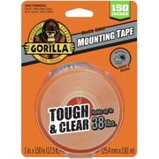 Best Double Sided Tapes - Gorilla 6036002 Tough & Clear XL Mounting Tape Review