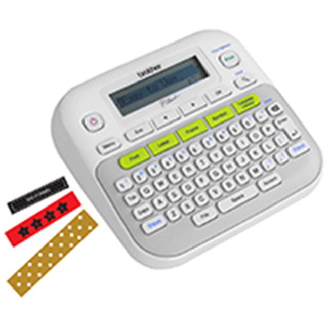 Brother International PTD210 Easy, Compact Label Maker, 2 Lines