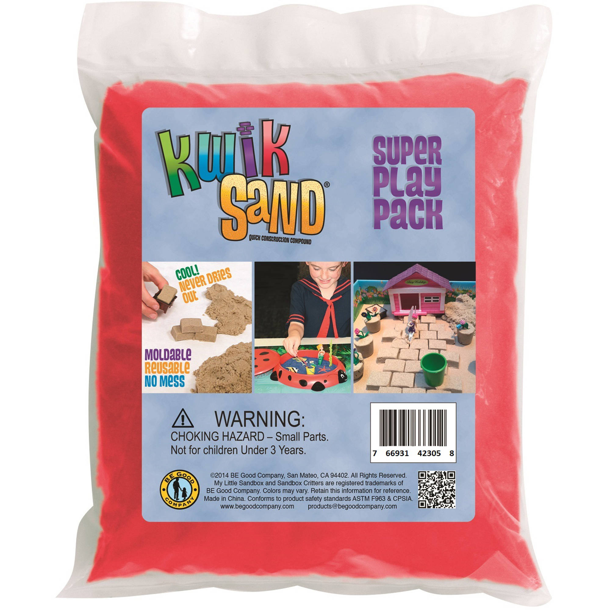 Be Good Company KwikSand Refill Pack, Red