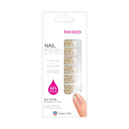 Incoco Nail Polish Applique, Eye - Easy Simple Halloween Nails