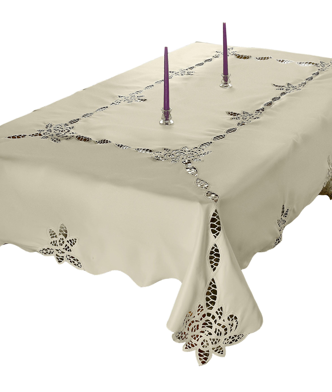 Betenburg Lace Design Tablecloths by Violet Linen