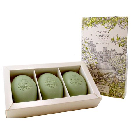 Lily Of The Valley Luxury Soap, Lily of the Valley by Woods of Windsor By Woods of (Woods Of Windsor Lily Of The Valley)