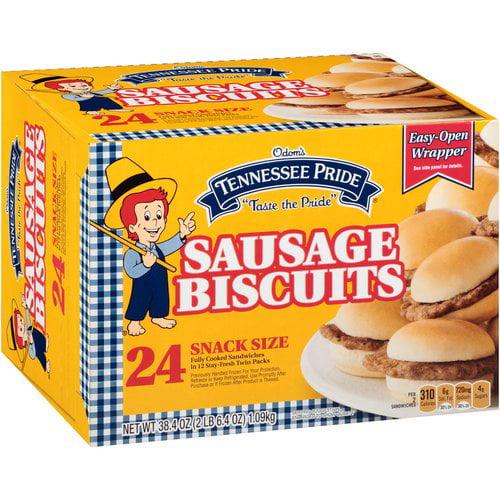 Odoms Tennessee Pride Sausage Tennessee Pride  Sausage Biscuits, 38.4 oz