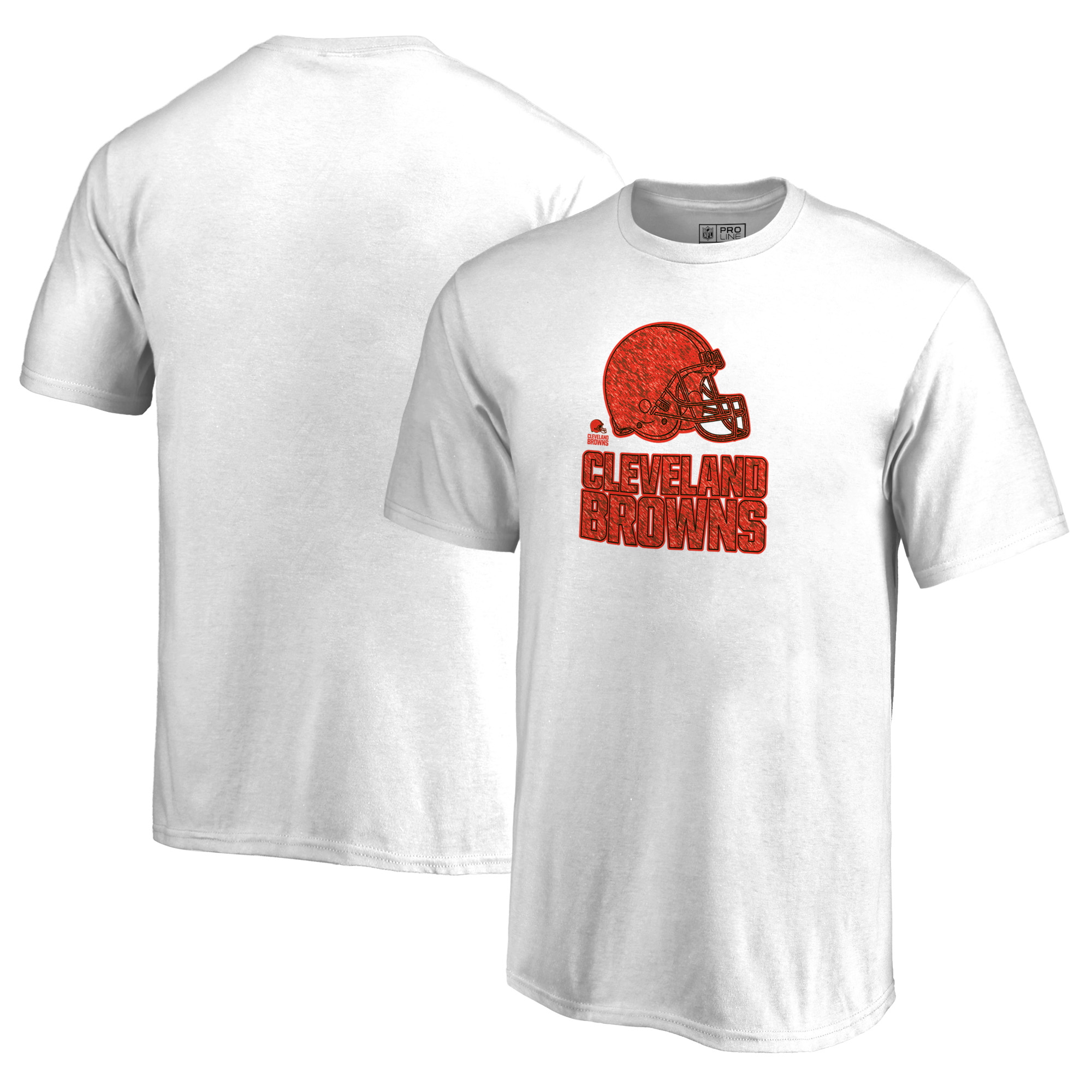 Cleveland Browns NFL Pro Line by Fanatics Branded Youth Training Camp Hookup T-Shirt - White