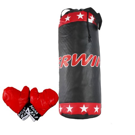 Be A Pro Boxing Champion Best of The Best Themed Boxing Bag & Gloves Play Set Toy, Comes w/Padded Boxing Gloves & Soft Padded Punching