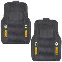 Green Bay Packers Two-Piece Deluxe Car Mat Set - No Size