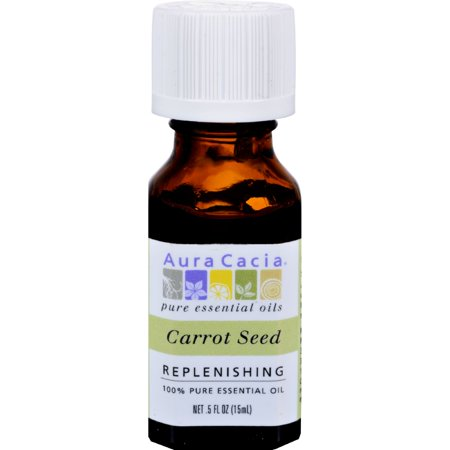 Frontier Natural Aura Cacia  Carrot Seed Oil, 0.5