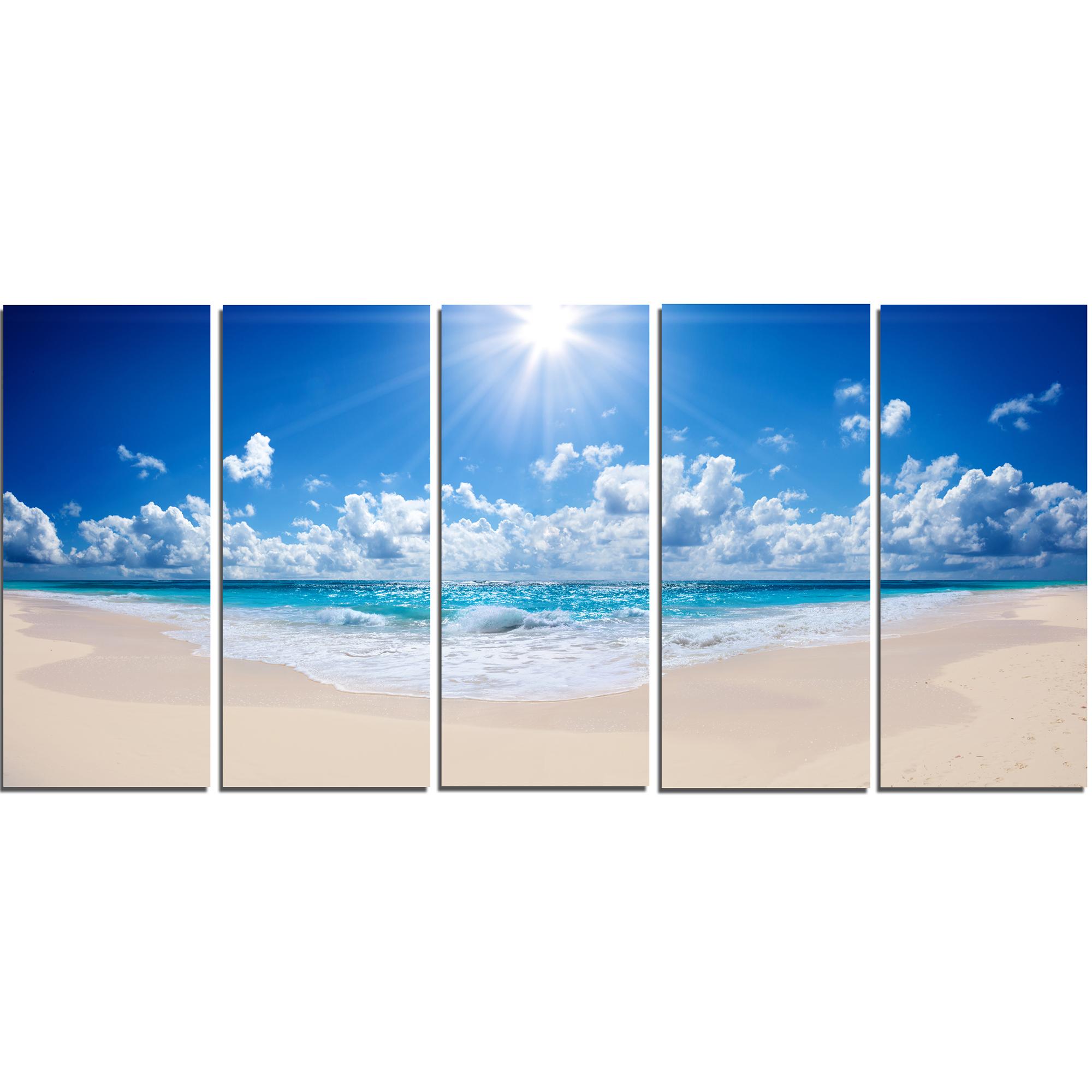 Design Art - Beautiful Tropical Beach Panorama - image 1 de 3