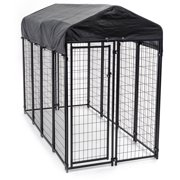 Lucky Dog Uptown Welded Wire Kennel, 6`H x 4`W x 8`L