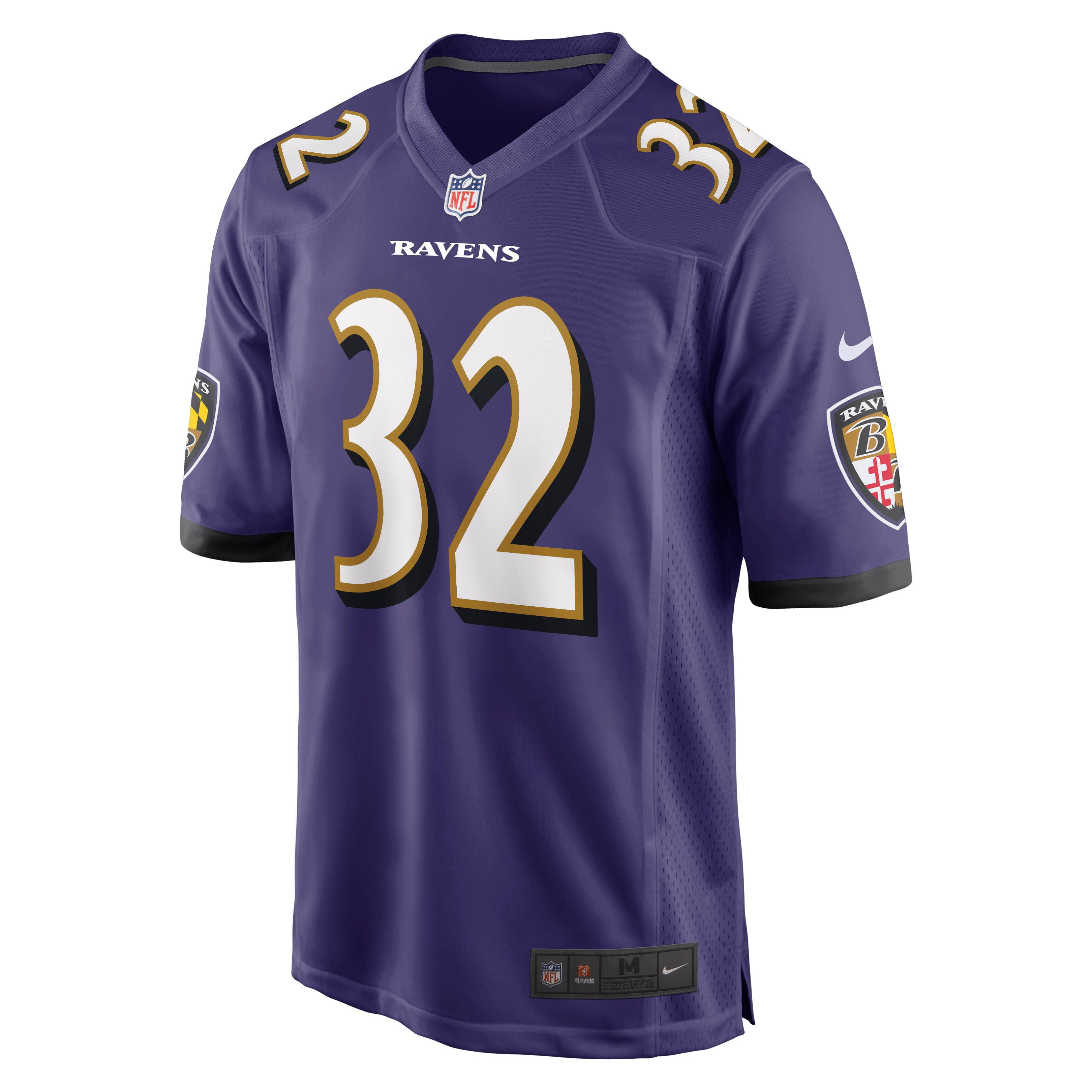 DeShon Elliott Baltimore Ravens Nike Game Jersey - Purple