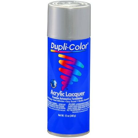 Dupli-Color Paint DAL1679 Dupli-Color Premium Lacquer; Silver Metallic; 12 oz. Aerosol;
