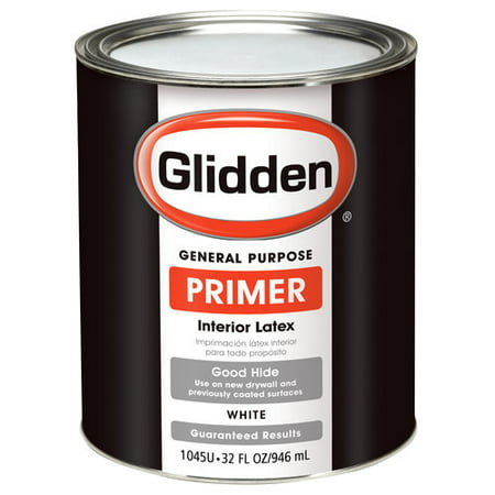 Glidden Interior Latex Primer White 1 Qt