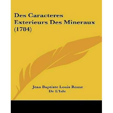 Des Caracteres Exterieurs Des Mineraux (1784) - image 1 of 1