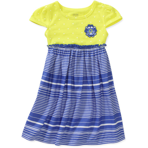 Child of Mine by Carters Baby Girls' Mixed Print Dress