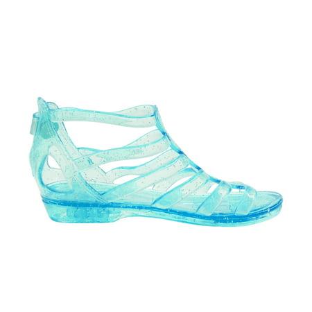 Sara Z Girls Jelly Gladiator Sandals