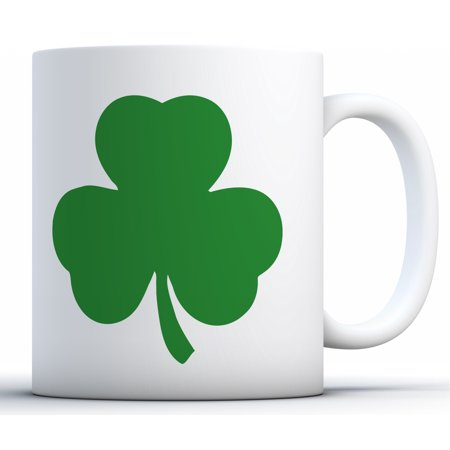 Awkward Styles Irish Shamrock Coffee Mug Shamrock Mug Tea Cup St. Patricks Mugs for Coffee Lovers Tea Lovers St. Patrick's Day Coffee Mugs Saint Patty Gifts Party Green Shamrock Gifts